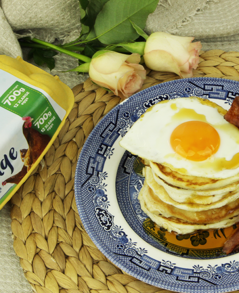 Buttermilk Pancakes – Sunny Side Up