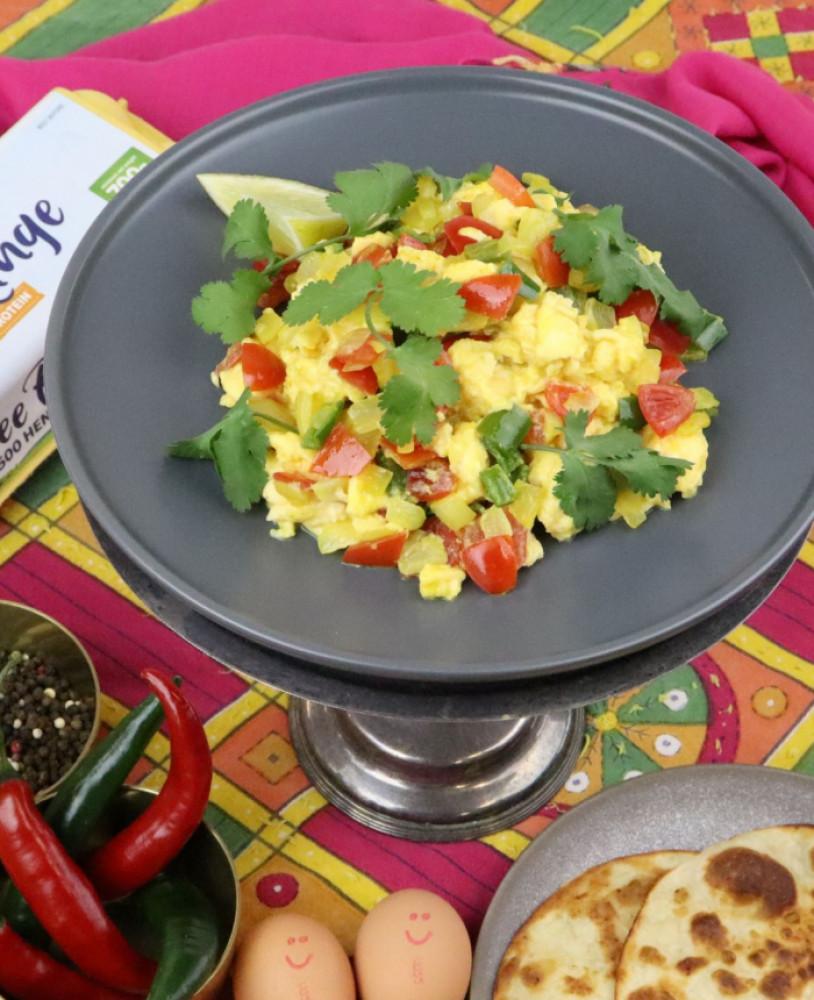Bhurji (Spicy Scrambled Eggs)